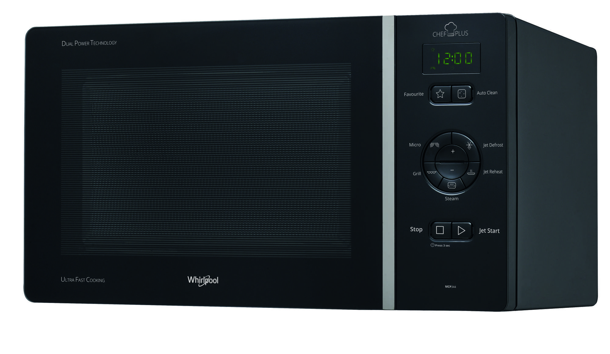 whirlpool mcp344nb pas cher - micro ondes grill whirlpool