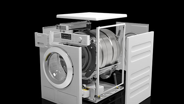 Miele Washing Machine >> Miele Wwg120xl Ultra Efficient 9kg 1600rpm Freestanding Washing