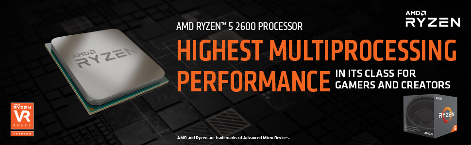AMD RYZEN 5 2600 6-Core 3 4 GHz (3 9 GHz Max Boost) Socket AM4 65W  YD2600BBAFBOX Desktop Processor - Newegg com