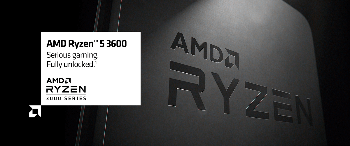 AMD Ryzen 5 3600 3 60 GHz 6 Cores AM4 CPU