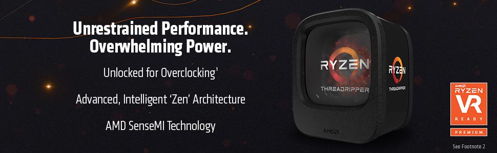 AMD 1st Gen Ryzen Threadripper 1950X 16-Core / 32 Threads 3 4 GHz Socket  sTR4 180W YD195XA8AEWOF Desktop Processor - Newegg com