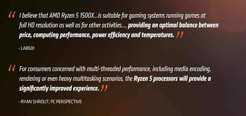 AMD RYZEN 5 1500X 4-Core 3 5 GHz (3 7 GHz Turbo) Socket AM4 YD150XBBAEBOX  Desktop Processor - Newegg com