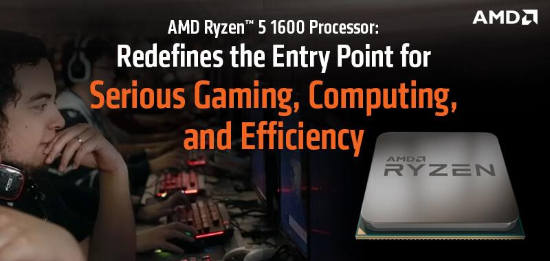 Amd Ryzen 5 1600 Desktop Processor Online At Low Price In India From Tps Technologies