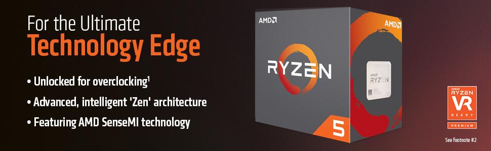 AMD RYZEN 5 1600X 6-Core 3 6 GHz (4 0 GHz Turbo) Socket AM4 95W  YD160XBCAEWOF Desktop Processor - Newegg com