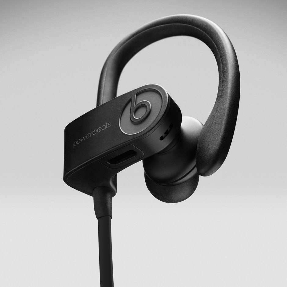 d30b3360782 Powerbeats3 Wireless Earphones - Black - Walmart.com