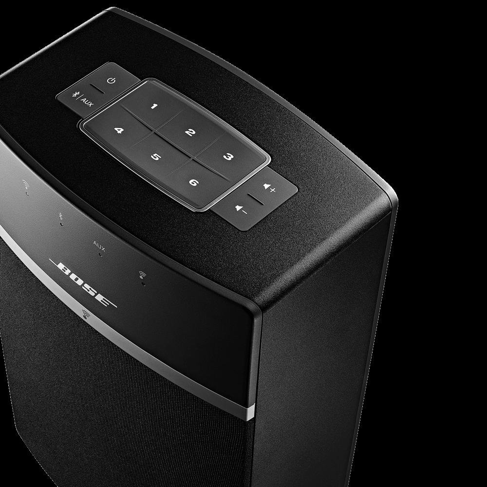 BOSE SoundTouch 10 Aktiver Multimedia-Lautsprecher schwarz | EURONICS.de