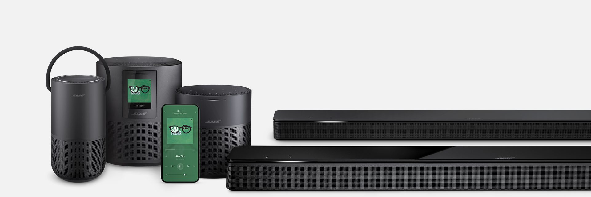 Bose Home Speaker 500 - Smart speaker - Bluetooth, Wi-Fi