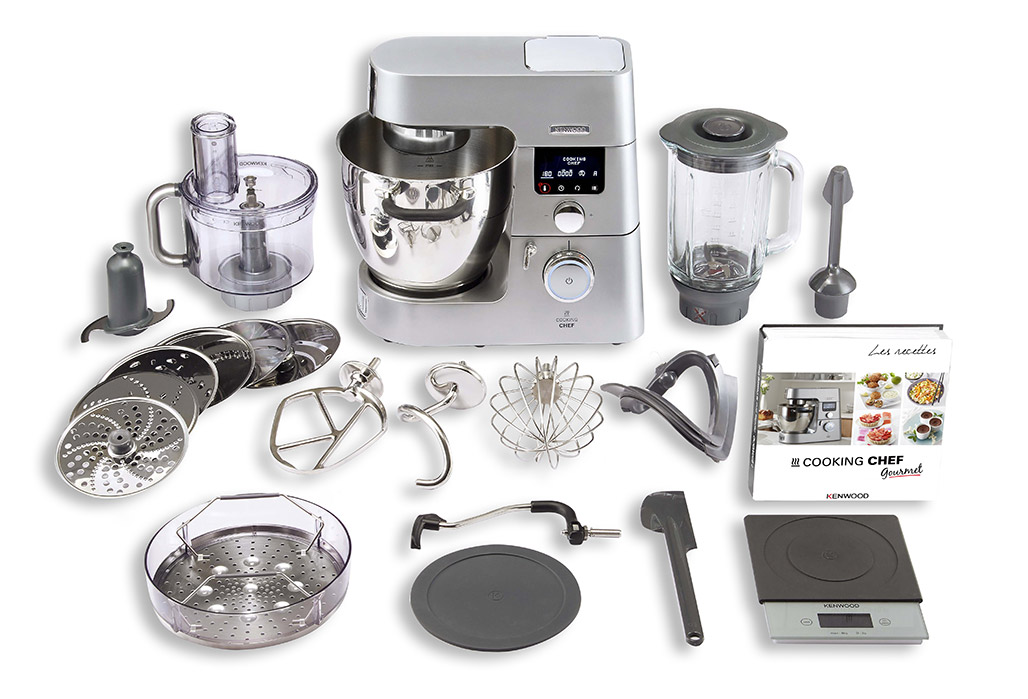robot cuiseur kenwood cooking chef gourmet kcc9063s | darty