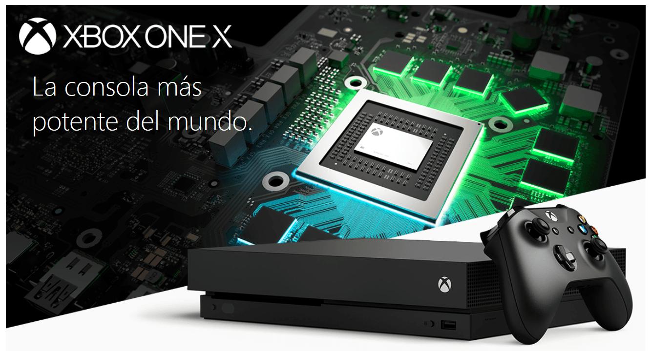 Consola Xbox One X De 1 Tb Negro Las Mejores Ofertas De Carrefour
