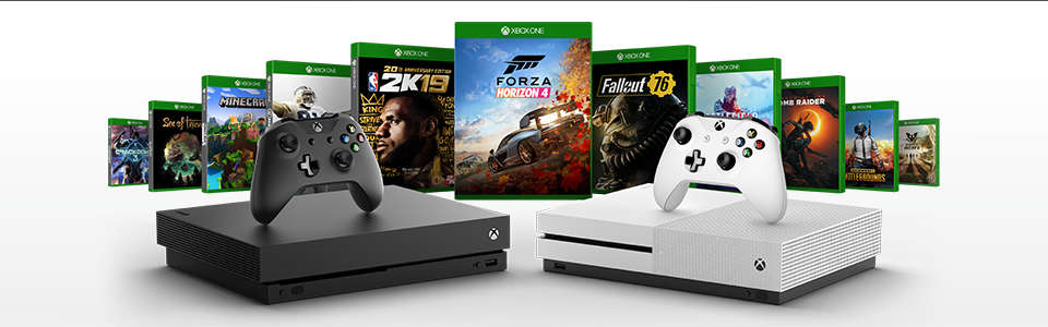 Xbox One X Forza Horizon 4 & Forza Motorsport 7 Bundle - Xbox One Consoles  UK