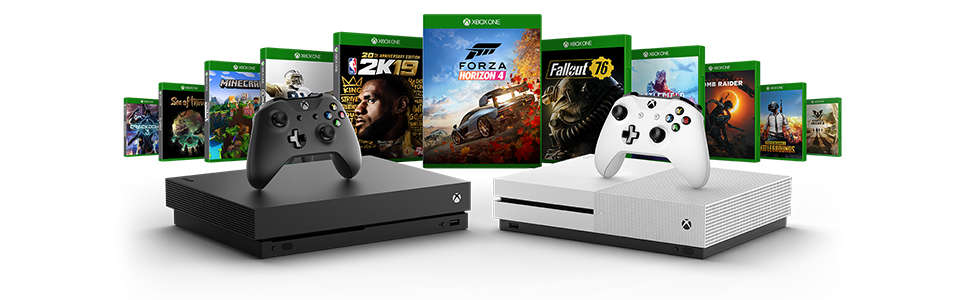 Xbox One S 1TB Two-Controller Bundle - Xbox One Consoles Ireland