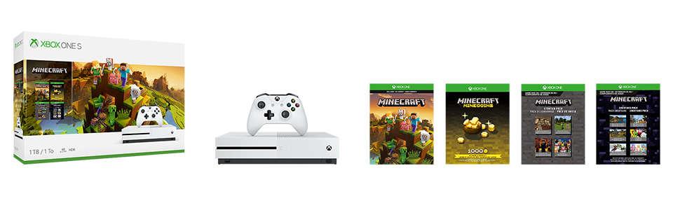 buy minecraft xbox one console