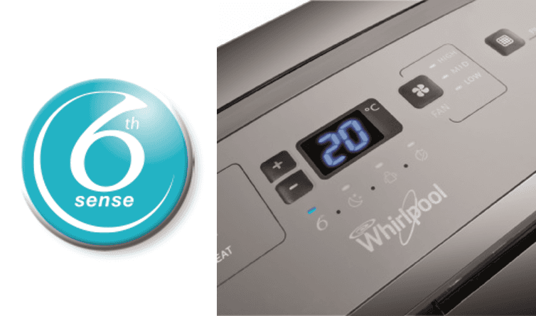 Climatiseur Mobile Whirlpool PACW12HP