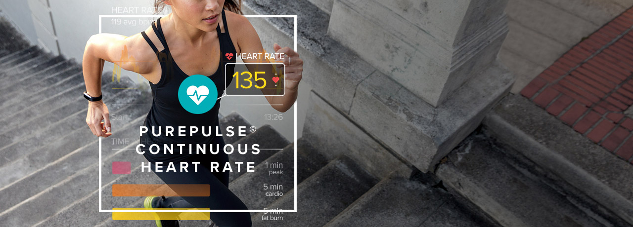 Fitbit Alta HR Small Fitness Tracker - Black