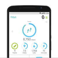 Fitbit 3542538 Alta HR Black Small at The Good Guys
