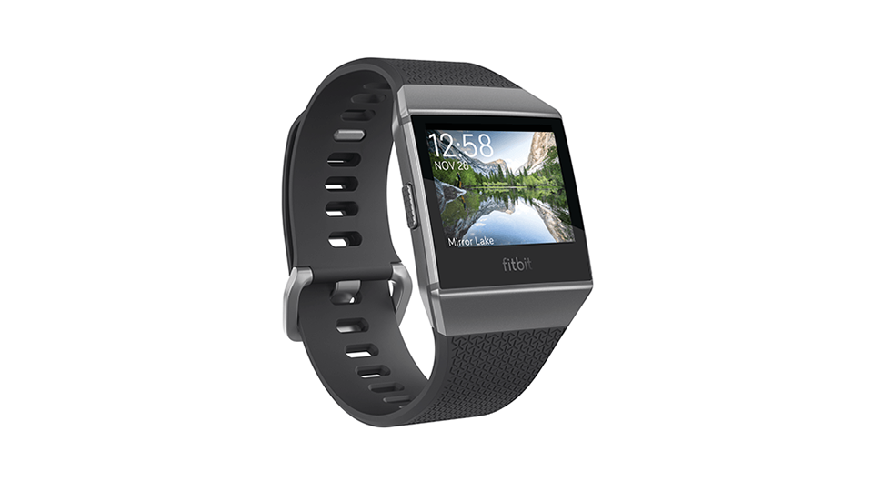 Fitbit 3709169 Ionic Charcoal/Smoke Grey at The Good Guys