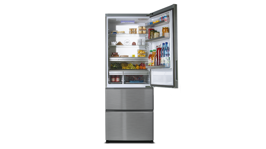 Kühlschrank Haier : Haier b 3 fe 742 cmjw french door kühl gefrier kombination
