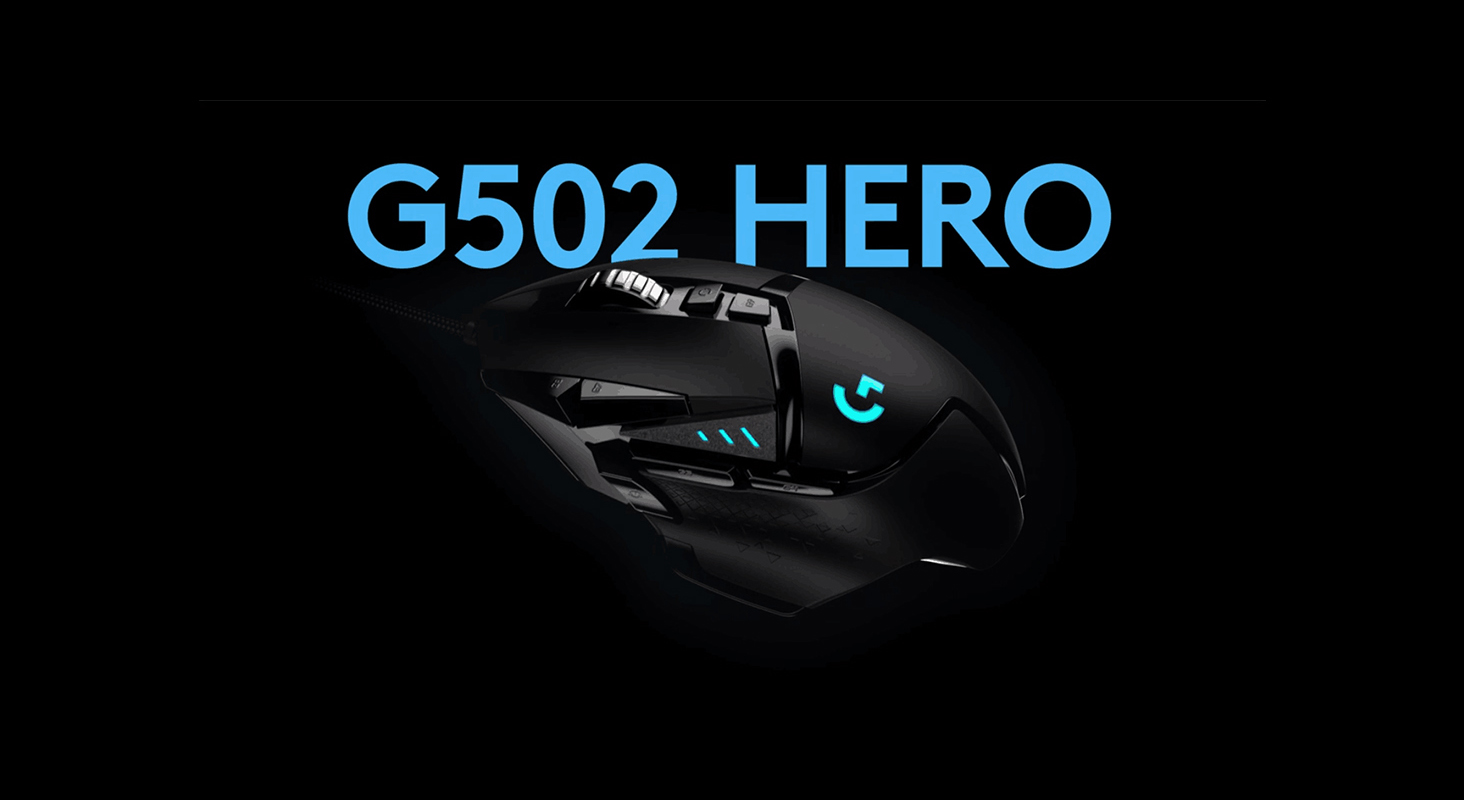 Logitech 910-005472/4 G502 Hero 16k Gaming Mouse