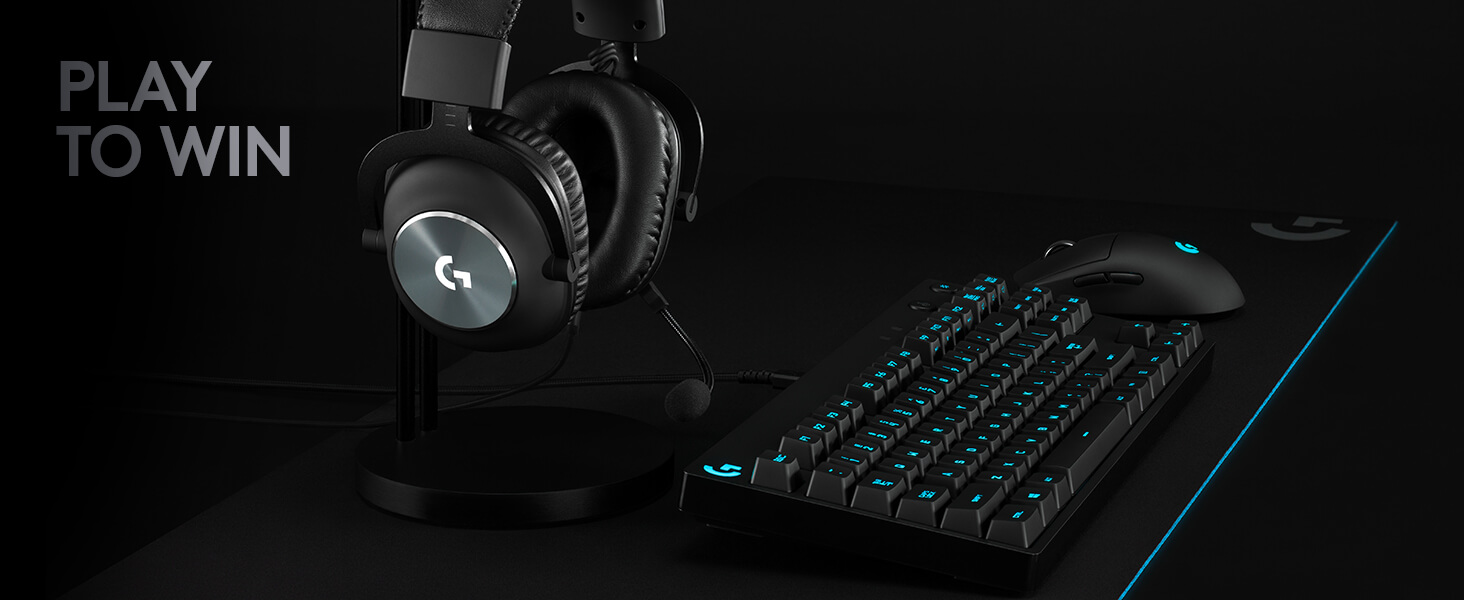 Buy LOGITECH G PRO X 7.1 Gaming Headset - Black | Free Delivery | Currys