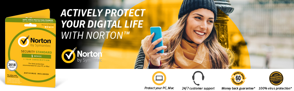 NORTON Security 2019 - 1 year for 1 device (download)