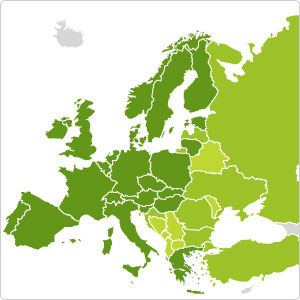 carte europe ouest tomtom